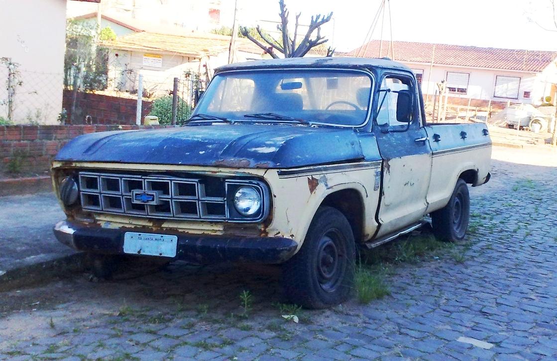 Chevrolet c10 4 carros rf os for Chevy home motors santa maria